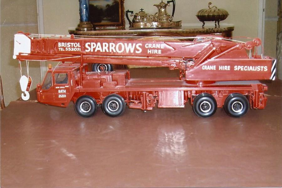 Sparrows International Crane Hire a brief Pictorial History